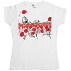 Womens Wizard Of Oz T Shirt - Poppy Field - White - Mediu... https://www.amazon.co.uk/dp/B00FRHSVVG/ref=cm_sw_r_pi_dp_x_Ql0.xbXP0A90W