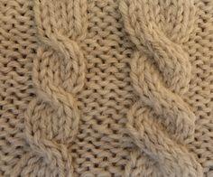 Hoe maak je een linksdraaiende kabel? De teltekening vind je hier. In ons blog vind je de uitleg over kabels breien. Een bezoekje waard!