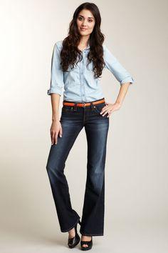 Mavi Denim -   Kay Flare Leg Jean