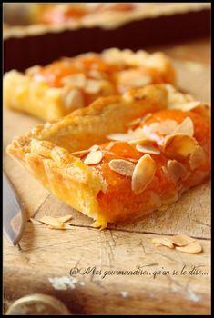 Tarte trop facile aux abricots.