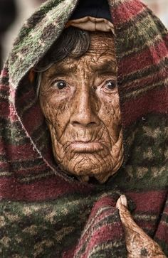 Face Old Woman