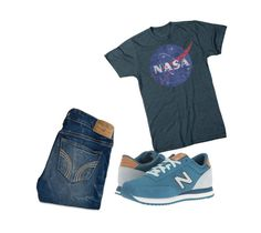 """""""Untitled #65"""" by jolee-micah ❤ liked on Polyvore featuring Hollister Co. and New Balance Classics"""