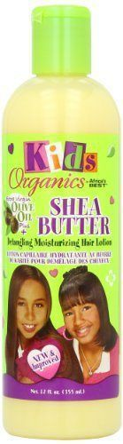 Africa& Best Kids Organic Shea Butter Detangling Moisturizing Hair Lotion, 12 Ounce (Pack of Lighten Hair Naturally, How To Lighten Hair, Olives, Rachel Hair, Hair Lotion, Moisturize Hair, Organic Makeup, Body Lotions, E Bay