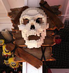 Legoland California by cjdc Legoland California, Work Inspiration, Skull And Bones, Making Out, Skulls, Skeleton, Brick, Vacation, Board
