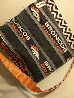 Broncos Hippie Sack by GusandBeckys on Etsy