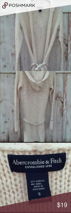 Rare Abercrombie long knit sweater Gorgeous sweater to pair with jeans or leggings. Abercrombie & Fitch Sweaters Cardigans