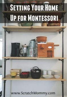 Montessori lessons are very simple, yet extremely rich. Read Crystal's post on setting your home up for Montessori and what simple things to include.