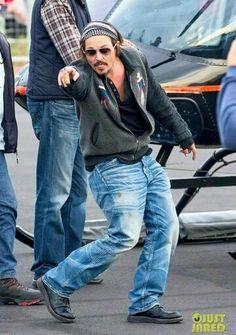Silly Johnny Depp