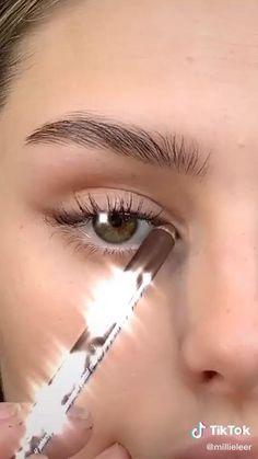 Edgy Makeup, Skin Makeup, Eyeshadow Makeup, Makeup Art, Makeup Tips, Natural Everyday Makeup, Natural Makeup, Maquillage On Fleek, Makeup Hacks Videos