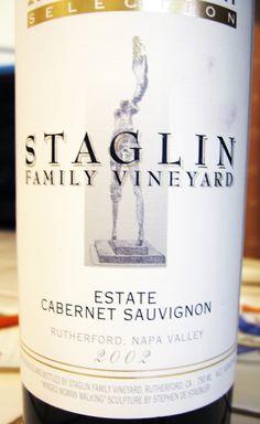 2002 Staglin Napa Valley Rutherford Cabernet Sauvignon #wine