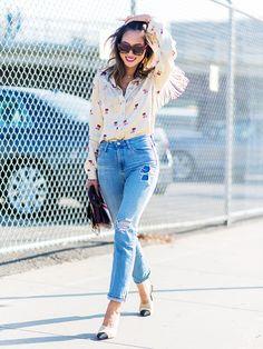 The Best Way to Wear Skinny Jeans This Season via @WhoWhatWearUK