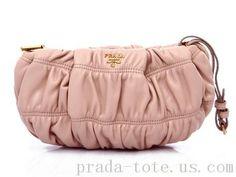 Luxury #Prada 1N1584 Handbags in Light Pink onnline sale