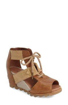 SOREL SOREL 'Joanie' Cage Sandal (Women) available at #Nordstrom