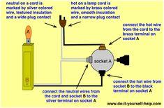 floor lamp wiring diagram diy crafts projects pinterest floor rh pinterest com Rewiring a Lamp Switch electrical wiring floor lamp switch repair
