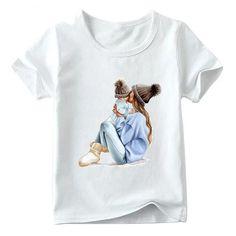 Ensemble de v/êtements de No/ël pour petite fille legging P/ère No/ël T-shirt /à manches longues
