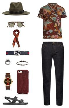 """House of Madalani"" by houseofmadalani on Polyvore featuring Dolce&Gabbana, Valentino, Dsquared2, Oliver Peoples, Nick Fouquet, Hadoro, Gucci, Lost & Found, ZADEH and Paul Smith"