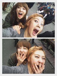 Juyeon, Jooyeon, Lizzy, After school