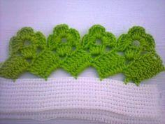 Crochet Gifts - Crochet How to crochet doily Part 1 Croche Crochet Boarders, Crochet Edging Patterns, Crochet Lace Edging, Crochet Squares, Crochet Trim, Crochet Designs, Crochet Flowers, Knitting Patterns, Picot Crochet