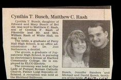 Mr. & Mrs. Busch-Rash. | 15 Wedding Announcements From Couples With Deeply Unfortunate Names