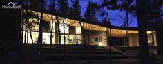 Modernia puurakentamista Suomesta | Modern wooden house | Honkatalot.fi
