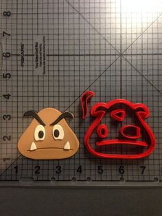 Hey, I found this really awesome Etsy listing at https://www.etsy.com/listing/198423832/super-mario-goomba-cookie-cutter-set