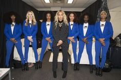 Beyoncé and Her Dancers Slayed in Hillary Clinton Pantsuits at Last Night's #GetOutTheVote Concert