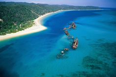 Tangalooma Wild Dolphin Resort- Australia.