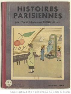 Histoires parisiennes... / Marie-Madeleine Franc-Nohain - 1937