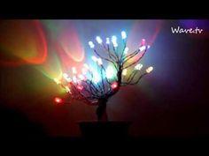 Drzewko szczęścia LED RGB (Tree of happines) - YouTube
