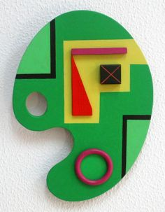 Paleta de Pintor, Ángel Hernández, Mallorca.