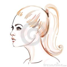 Watercolor Fashion Illustration Stock Photos, Images, & Pictures – (9,573 Images) - Page 4