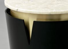 MOON SIDE TABLE Detail by Duistt