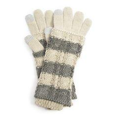 WINTER WHITE 3-in-1 GLOVE | MUK LUKS® Winter White Accessories