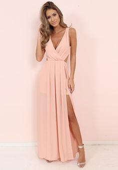 A-Line Strapless Slit Long Prom Dresses with Pockets, Simple Formal Party Dresses - Fashion Prom Girl Dresses, Straps Prom Dresses, Prom Outfits, Ball Dresses, Homecoming Dresses, Dress Outfits, Evening Dresses, Fashion Dresses, Summer Dresses