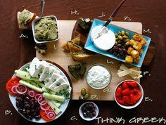 Greek Antipasti Platter