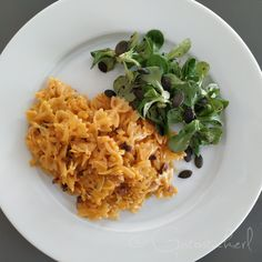 Risotto, Grains, Rice, Ethnic Recipes, Sweet, Food, Super Simple, Food Portions, Easy Meals