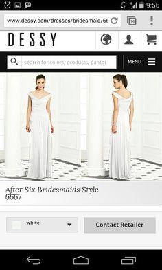 After six bridgemaid 6667