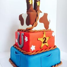Our lil' Cowboy Cake - Yelp