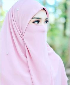 Islam Beautiful hijab and niqab Hijab Niqab, Muslim Hijab, Hijab Chic, Hijab Dp, Niqab Fashion, Muslim Fashion, Fashion Muslimah, Beautiful Muslim Women, Beautiful Hijab