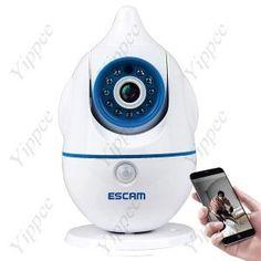 ESCAM Penguin QF521 Wi-Fi Baby Monitor 720P Color Camera  $119.15