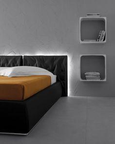 Letti e comodini | modello Pisolo | Pianca design made in italy