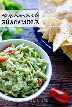 Easiest Guacamole