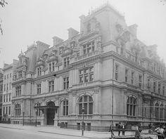 Caroline Astor Residence, 1893-1926, Richard Morris Hunt, 840 Fifth Avenue at 65th St.
