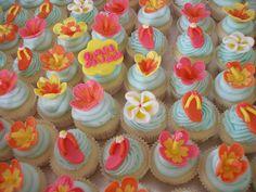 Luau Graduation Mini Cupcakes by OccasionCreations, via Flickr