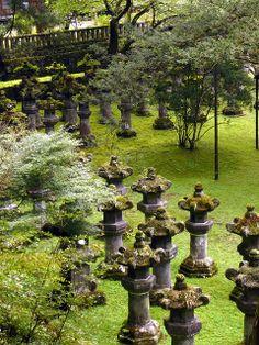 Stone Turtles at Futarasan Shrine, Nikkō, Tochigi Prefecture