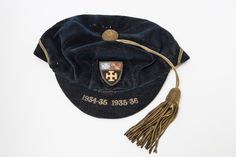 A colours cap; awarded to boys for sporting excellence