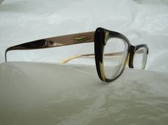 Vintage cateye glasses rockabilly Bausch and Lomb by Jossells, $63.00
