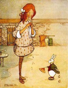 "Alice in Wonderland by Mabel Lucie Attwell  «Алиса в стране чудес» | ""Картинки и разговоры"""