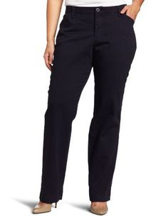 6e1f042ced4 Lee Women s Plus-Size Comfort Fit Straight Leg Pant Lee.  34.90. 31 inch  inseam. Comfort waistband that moves with you. Machine Wash. Brushed  stretch twill.