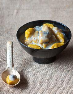 gnocchi di zucca con crema al gorgonzola                     #recipe #juliesoissons